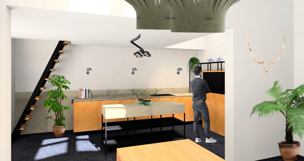 keukenontwerp interieurontwerp styling kleuren materialen