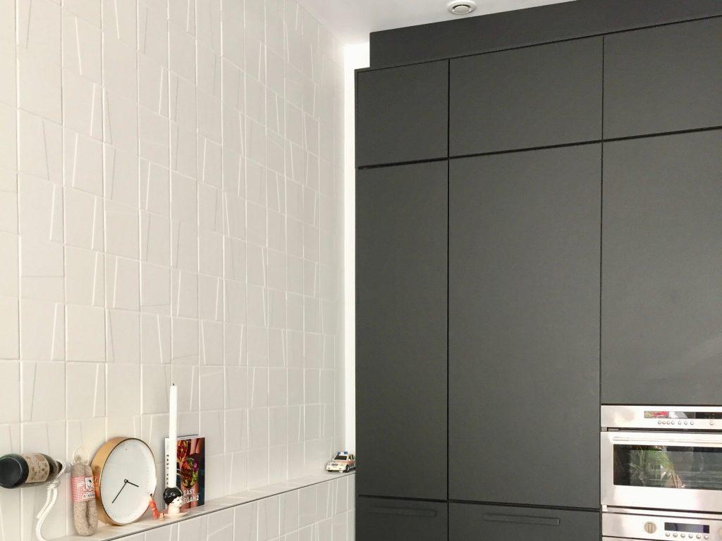 IKEA Kungsbacka kastenwand keuken MOSA wandtegels maatwerk meubel keuken interieuradvies interieurontwerp kleuradvies rotterdam