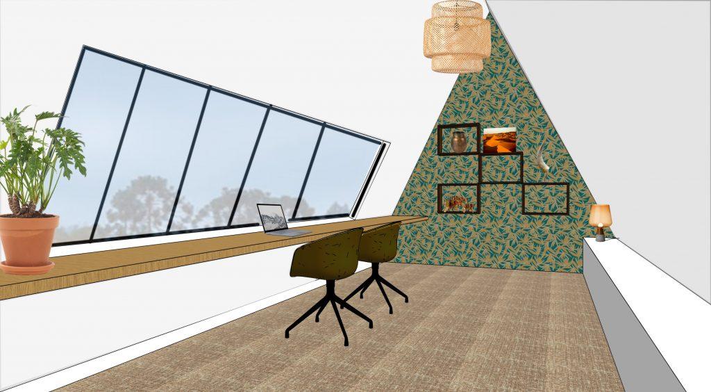 indelingsadvies interieurontwerp nieuwbouw werkplek
