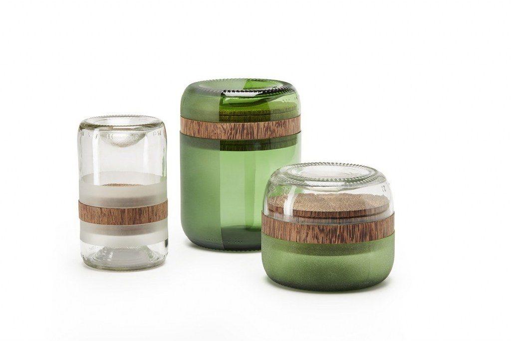circulair duurzaam interieur design accessoires gerecycled glas