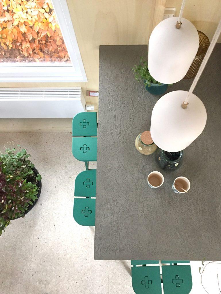 circulair duurzaam interieur design lamp kruk