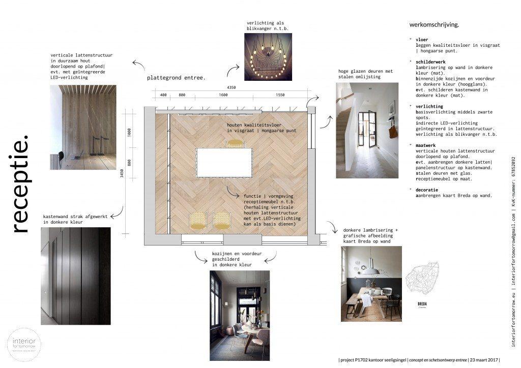 interieurontwerp indelingsadvies maatwerk ontvangstruimte kantoor
