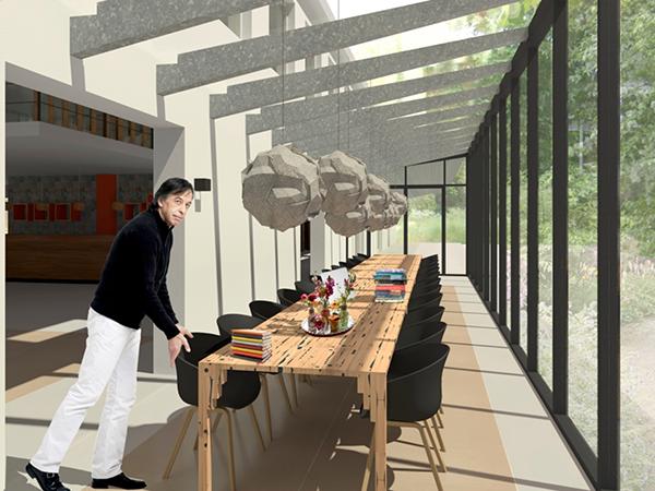 interieurontwerp interieurvormgeving zakelijk kantoorpand