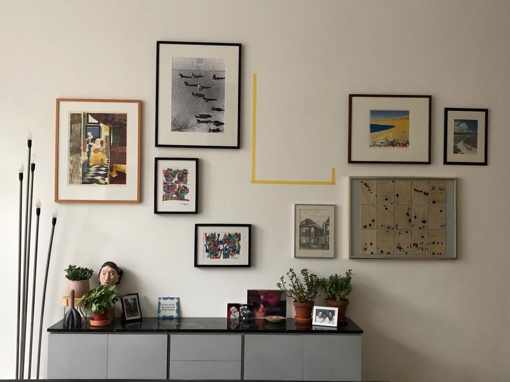 interieuradvies aan huis wandcompositie kunstwerken