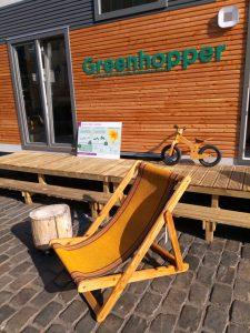 greenhopper tiny house circulair interieur breda