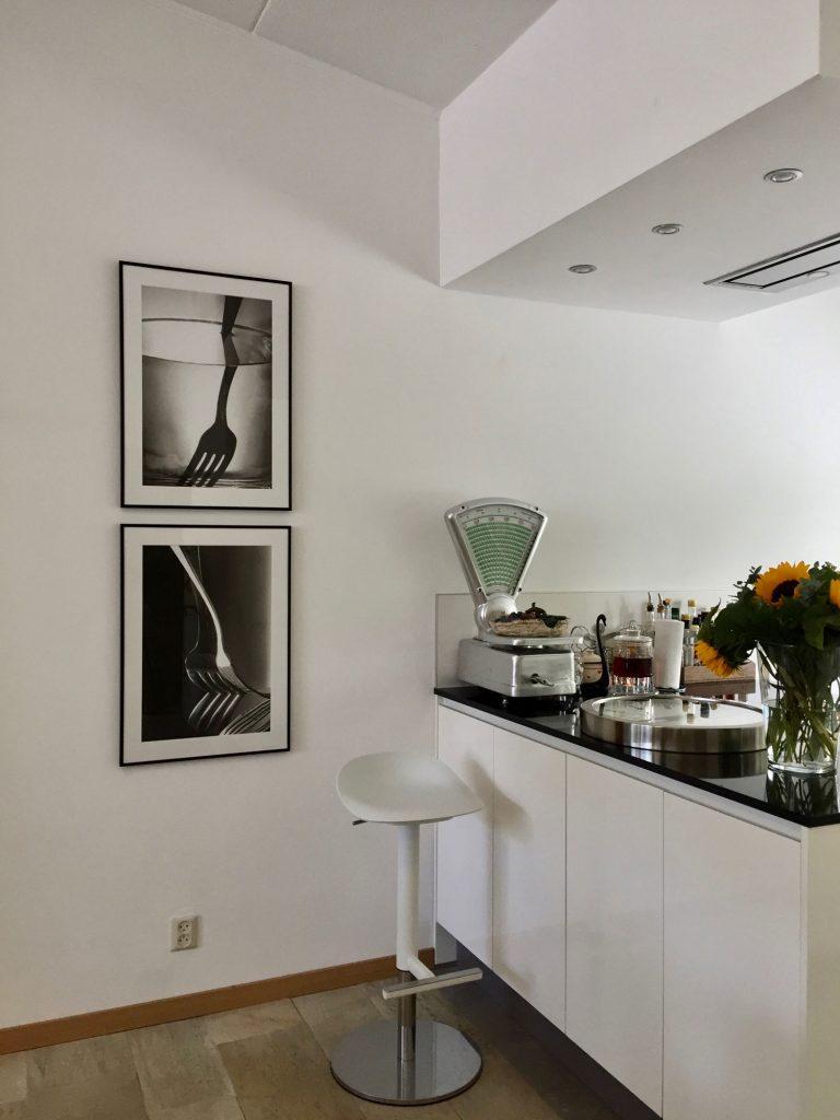 interieuradvies aan huis kunstwerken keuken