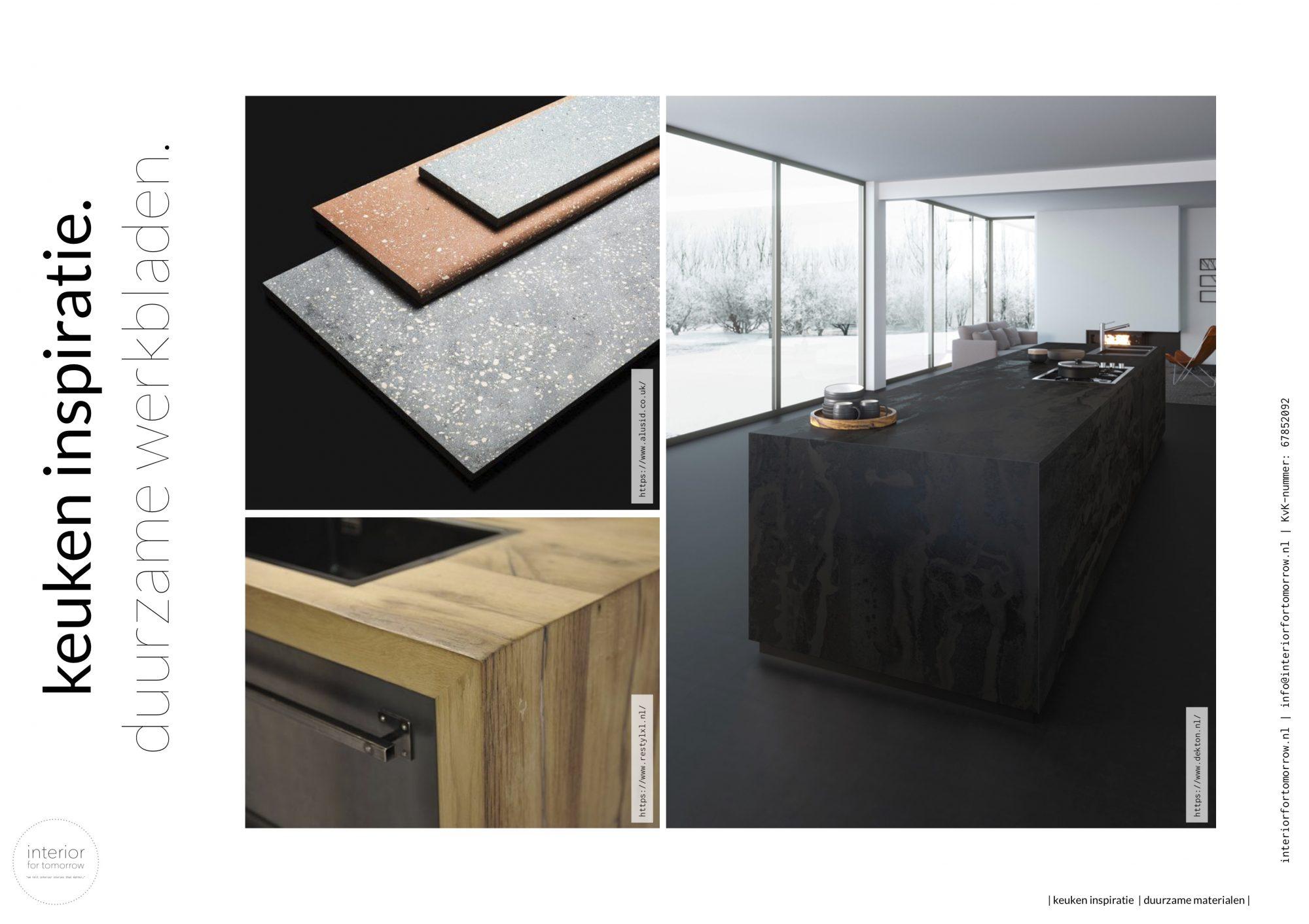 moodboards duurzame materialen keuken_werkbladen_high