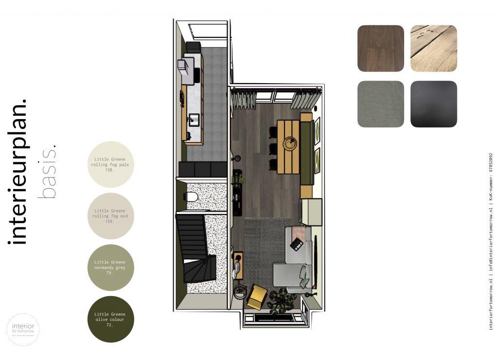 interieuradvies interieurplan DIY stoer warm nest basis materialen kleuren