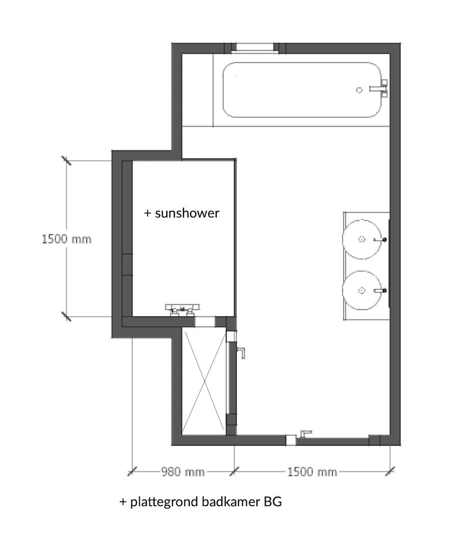 kievitlaan nieuwe indeling woonkamer keuken functionele ruimtes badkamers